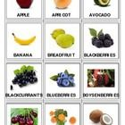 There are 4 pages with 48 fruits and berries that must be printed, laminated and cut out. This can be used as PECS cards, or flash cards for matchi...