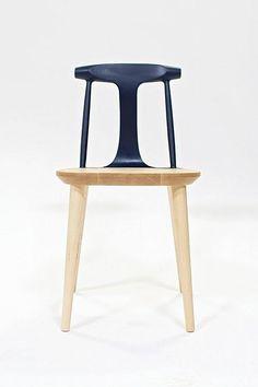 wooden design chair by Studio Dunn