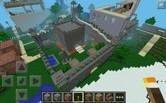 Minecraft PE:miniature castle