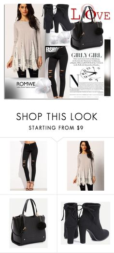 """ROMWE 19/1"" by melissa995 ❤ liked on Polyvore"