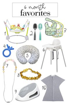 must haves for a 6 month old baby