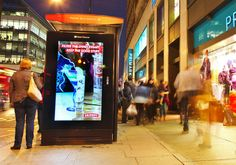 Clear Channel UK Expands Adshel Live Digital Signage Bus Shelter Network - Read more on ScreenMedia Daily