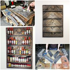 How to Build a SPICE RACK from a Wood Pallet Project Homesteading  - The Homestead Survival .Com