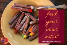 Feed Your Inner Artist - Great ideas on how to stay inspired, with printable journal worksheets to help.