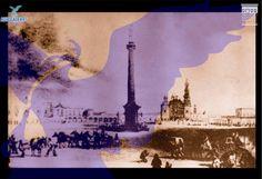 Plaza Principal, una de las imágenes más conocidas de la ciudad de Aguascalientes en el siglo XIX. Litografía de Carl Nebel.