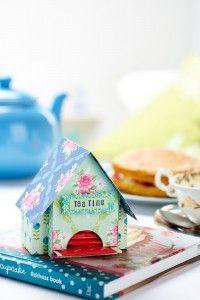 que lindo essa casinha porta chá ameiiii