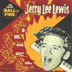 Jerry Lee Lewis - The Great Ball Of Fire (1958) #JohnnyRockets #JukeboxHeroes