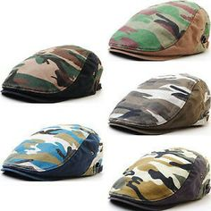 Love these flat caps
