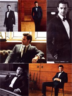 Esquire magazine December 2013. Finally, Mr. Armitage gets the photo session he deserves.