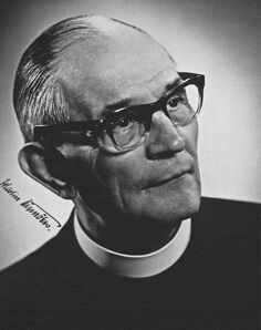 """Pastor Martin Niemöller (1892–1984), who posed the famous and powerful """"Then they came for me, and there was no one left to speak"""" statement about the inactivity of German intellectuals following the Nazi rise to power and the purging of their chosen targets, group after group."""