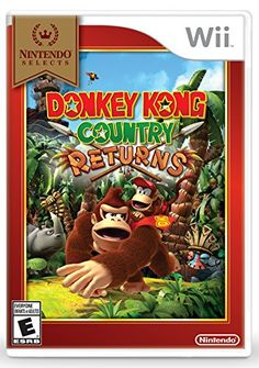 Nintendo Selects Donkey Kong Country Returns >>> Details can be found by clicking on the image. Note:It is Affiliate Link to Amazon.