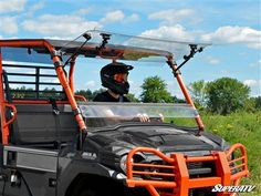 Keep out debris and shade yourself from the sun with a SuperATV Scratch Resistant Flip Windshield for your Kawasaki Mule Pro. Turbo Shop, Utv Accessories, Purina Friskies, Rooster Tail, Kawasaki Mule, Dry Cat Food, The Struts, Flipping, Atvs