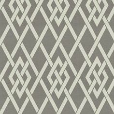 Secret Gate Outdoor - Pewter. Image: calicocorners.com. #outdoor_fabric #grey #geometric