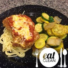Clean eating Chicken parm