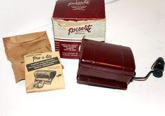 Vintage Cigarette Lighter Dispenser Holder Pres A Lite in Box Car Auto