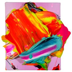 Yago Hortal SP29. acrylic on linen. 27×27'5cm. 2012