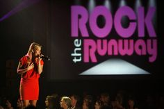 Alanna Hall at DYW Rock the Runway.