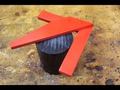 Making an Easy DIY Center Finder from Plywood - YouTube