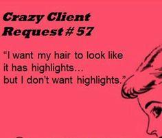 Hair humor Funny Memes | Funny Graphics | Salon Quotes | Hair Salon