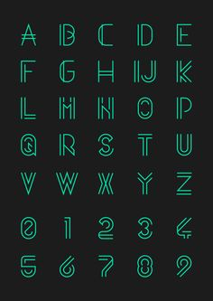 Quasith - Free Font by Egidio Filippetti, via Behance
