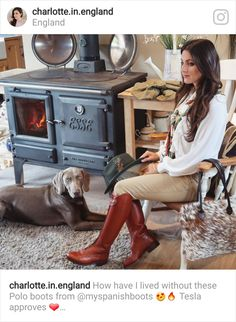 Charlotte in England looking fabulous in our Polo Boots in Tan, these gorgeous boots are also available in Brown, Black & Navy, made with the highest quality Spanish Leather with a Good-year welted sole. Country Boots, Country Outfits, British Country Style, Polo Boots, Equestrian Style, Black And Navy, Leather Boots, Riding Boots, Spanish