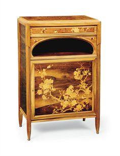 Art Nouveau Cabinet by Èmile Gallè ca.1900 #artNouveau