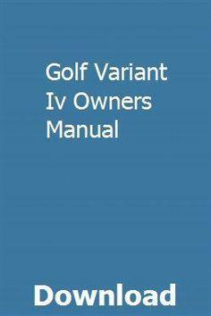 Golf Variant Iv Owners Manual pdf download full online #VWGolfVariantInterior Gcse Economics, Triumph 675, Ford Bronco Ii, Aftermarket Motorcycle Parts, Triumph Street Triple, Truck Repair, List Of Skills, Crawler Tractor, Motor Grader