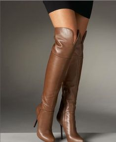 FASHION BOOTS Sexy Boots, Brown Boots, Knee High Boots, Fashion Boots, Riding Boots, Patent Leather, Booty, Heels, Women