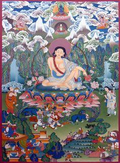 The Great Tibetan Saint Milarepa