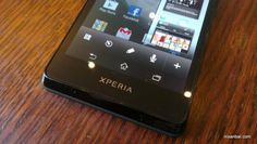 Pictures of the Sony Xperia Mint (Xperia T) Surface