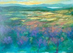 Distesa 50x70 cm Luigi Torre painter 2016