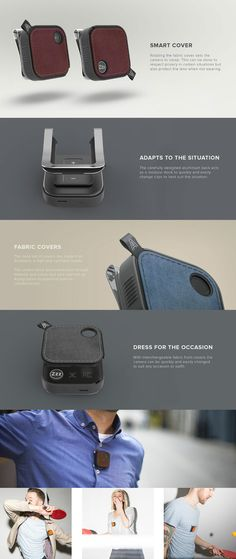 THE GOPRO'S ULTRA-STYLISH COMPETITOR.. Read more at Yanko Design