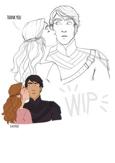WIP Elain and Azriel from A court of wings and ruin by s.maas I don't know how to color this omggggggggg A Court Of Wings And Ruin, A Court Of Mist And Fury, Detective, Feyre And Rhysand, Roses Book, City Folk, Sarah J Maas Books, Favorite Book Quotes, Fanart