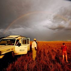A stunning #Rainbow in the #Serengeti. Something not many people will ever see let alone photograph. If you're thinking of visiting #Tanzania why not do it with Wild Frontiers! Go to  www.wildfrontiers.com to find out more #Africa #safari #amazing #rainyseason #vehicle #tourism #tanzania Rainy Season, Tanzania, Safari, How To Find Out, Tourism, Vehicle, Photograph, Africa, Rainbow