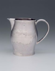 Silver Pitcher - about 1800 - Paul Revere, Jr. (American, 1734–1818) -  Made in Boston, Massachusetts -  Dimensions Overall: 17.9 x 10.6 cm (7 1/16 x 4 3/16 in.)