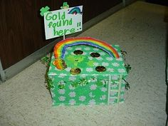 Leprechaun Traps -- goes along with a book. Cute!