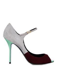 Peep-toe suede pumps | Pierre Hardy | MATCHESFASHION.COM US
