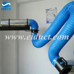 Ecoosi PVC flexible fabric ducting air hose is a fume gas exhaust duct hose to ventilate hazardous chemicals, dust, heat and fumes to create a healthy and productive work environment. This PVC flexible fabric ducting air hose was made by super quality PVC Pvc Fabric, Vinyl Fabric, Air Ventilation, Welding Tools, Pvc Coat, Spring Steel, Flexibility, Woodworking Ideas, Metals