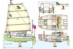 My Wooden Boat of the Week: Quenet Yann's SKROWL | Maine
