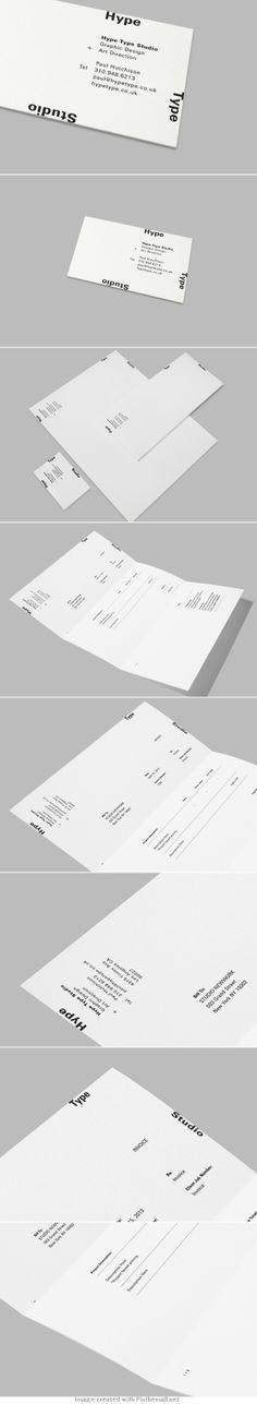 Hype Type Studio Stationary | Studio Newwork