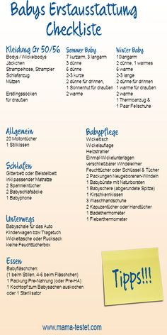 Baby initial equipment checklist: What do you really need?- Baby Erstausstattung Checkliste: Was braucht man wirklich? Baby initial equipment checklist: What do you really need? Site Bebe, Baby Registry Checklist, Baby Equipment, Baby Zimmer, Baby Co, Do You Really, Happy Baby, First Baby, Baby Feeding