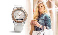 Relojes Guess y su sección de Joyería combinan cristales y finos detalles que dan el toque de perfección y elegancia convirtiéndose en el mejor regalo.