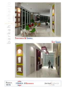 PROPOSED Hotel Cordela Yogyakarta - Cafetaria & Lift Lobby