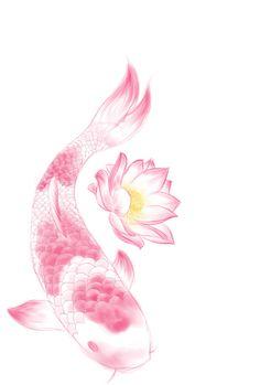 Koi and Lotus Tattoo Design by ~SasukeRoxMySox2 on deviantART