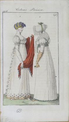 1806 Costume Parisien Fashion Plate No   45