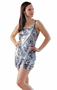 f7461545f0c Women s White Black Camo Short Pajama Set - CD11ZC5EEGL