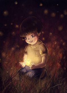 "Setsuko by PioPioColiflor.deviantart.com on @deviantART - From Studio Ghibli's ""Grave of the Fireflies"""