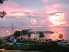 Sunset at Fairhope Pier- FAIRHOPE, AL