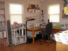 Jen Wills' craft space