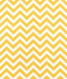 Premier Prints Zig Zag Corn Yellow Slub Fabric - $7.5384 | onlinefabricstore.net